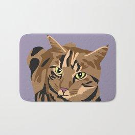 Tigger the cat Bath Mat