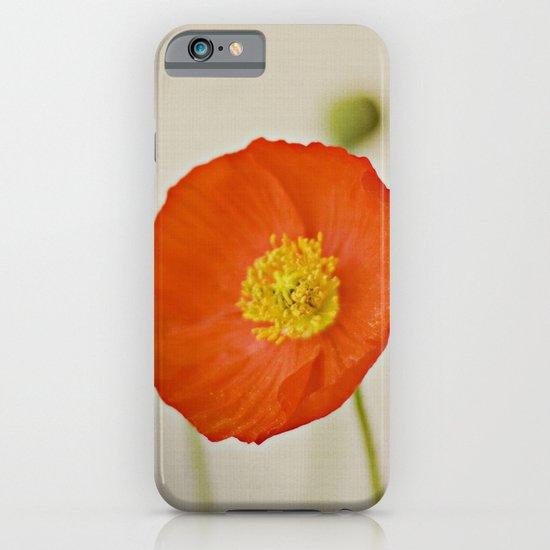 Poppy Flower Red Orange Yellow Bloom iPhone & iPod Case