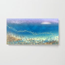 Abstract Seascape 03 wc Metal Print