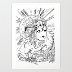 Intoxicating Moment Art Print