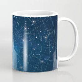 Constellation Star Map Coffee Mug