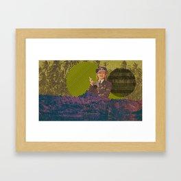 Lady Island Framed Art Print