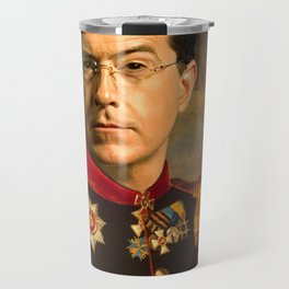 Stephen Colbert 19th Century Classical Painting Travel Mug