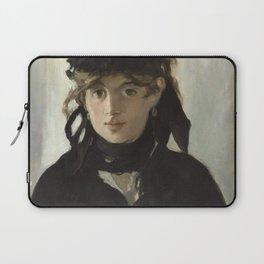 Edouard Manet - Young woman in a black hat Laptop Sleeve