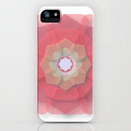 Pink Floral Meditation iPhone Case