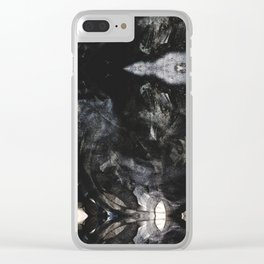 Abstract No 3 Clear iPhone Case