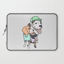Dog Squad Goals Laptop Sleeve