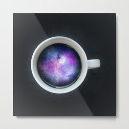 A cup of Universe Metal Print