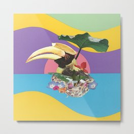 Toucan tropical Metal Print