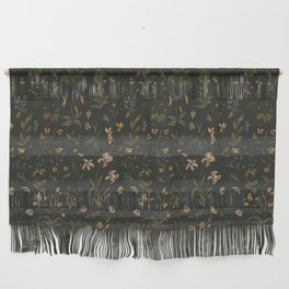 Old World Florals Wall Hanging
