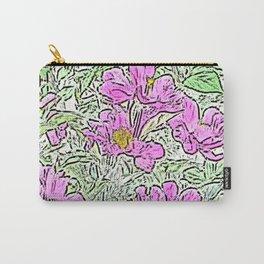 Garden Flowers Carry-All Pouch