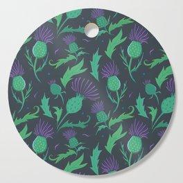 Scottish Thistle Pattern Cutting Board