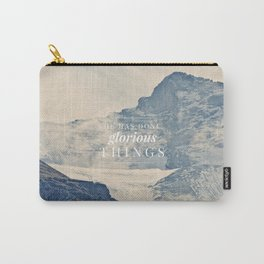 He Has Done Glorious Things - Isaiah 12:5 Carry-All Pouch