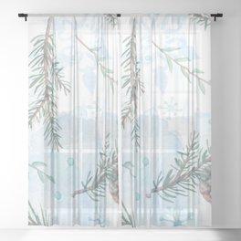 Winter Season 1.0 Sheer Curtain