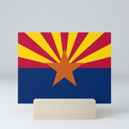 Arizona State flag Mini Art Print