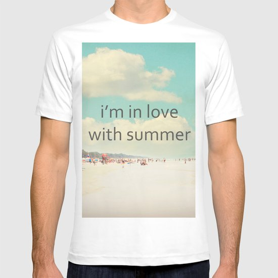 i'm in love with summer T-shirt