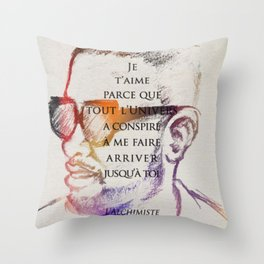For Jou Throw Pillow