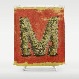 Monster M Shower Curtain