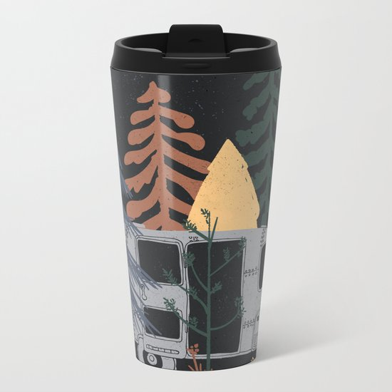 Wild Airstream... Metal Travel Mug
