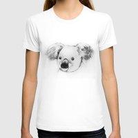 koala T-shirts featuring koala by Кaterina Кalinich