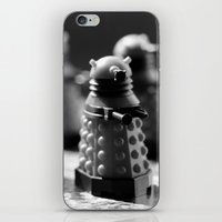 robots iPhone & iPod Skins featuring Robots by Emma Harckham