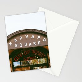 Harvard Square Stationery Cards