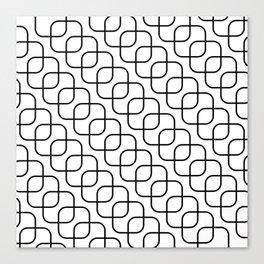 kaskada (white) Canvas Print