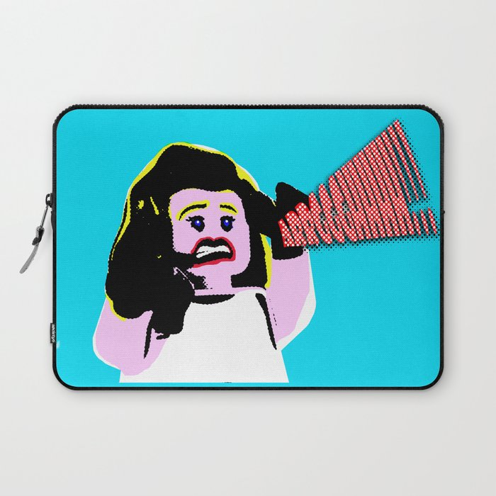 Lego Lichtenstein - Scream Laptop Sleeve