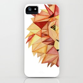 King of Jungle iPhone Case