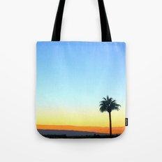 Panorama Palm Tote Bag