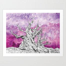 Yggdrasil Dawn Art Print