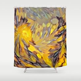 Sunrisen Avenue Shower Curtain