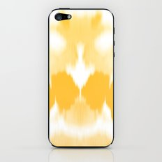 Ink mirror yellow iPhone & iPod Skin
