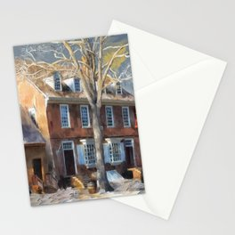 As Winter Melts Into Spring Stationery Cards
