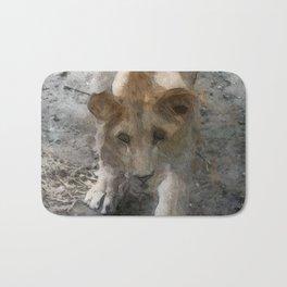 WColor Lioness Bath Mat