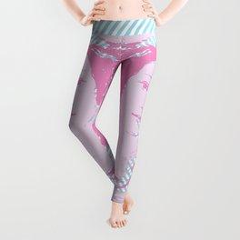 Venus - Pink & Cyan - Trans Pride! Leggings