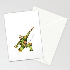 Nunchaku Turtle Stationery Cards