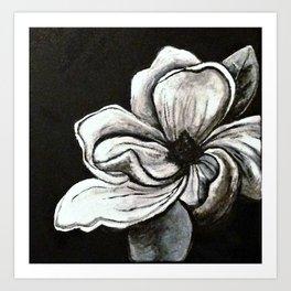 Steel Magnolia Art Print