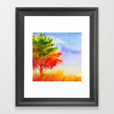 Autumn scenery #9 Framed Art Print