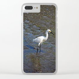 Provocative Pretender- vertical Clear iPhone Case