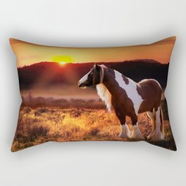 Gypsy Sunset Rectangular Pillow