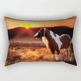 Gypsy Sunset Rectangular Pillow