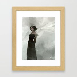 Vin at the Ball version 2 Framed Art Print