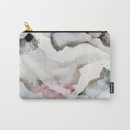 serenity: abstract painting Carry-All Pouch