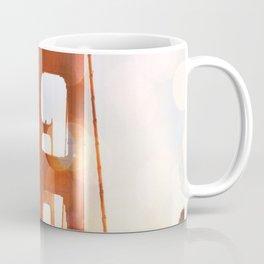 GOLDEN GATE BRIDGE - ABSTRACT Coffee Mug