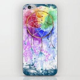 """dreamcatcher """"deep ocean"""" iPhone Skin"""