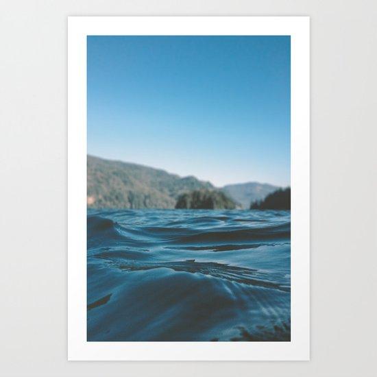 Lake Whatcom Art Print