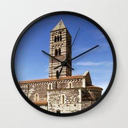 OLD CHURCH - SARDINIA - ITALY Wall Clock
