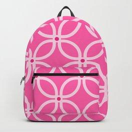 Trellis Pink Backpack