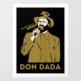 Super Cat Don Dada Art Print